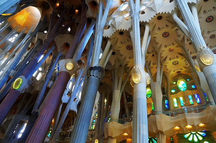 Barcelona's Sagrada Familia and Gaudi Sites