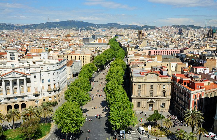 11 top rated tourist attractions in barcelona planetware for Hotel barcellona ramblas