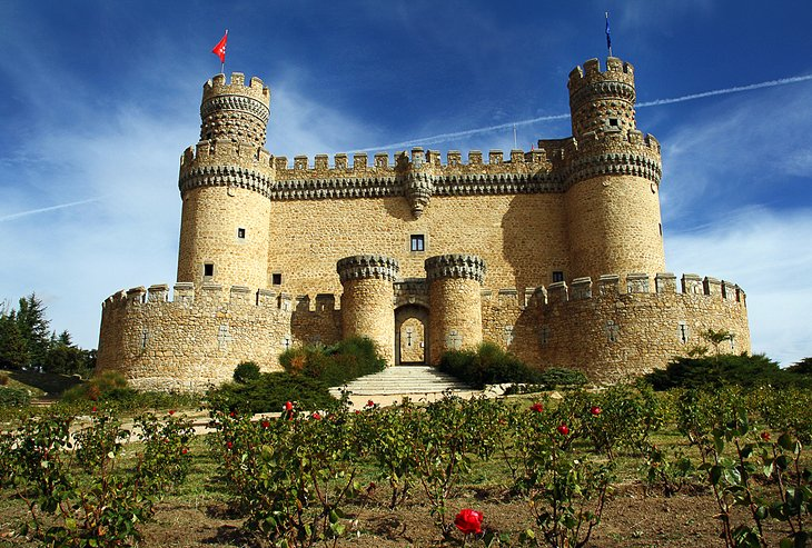 The Medieval Fortress of Manzanares el Real