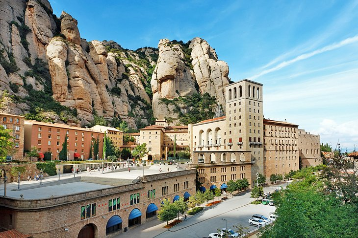 Montserrat and its Hilltop Monastery
