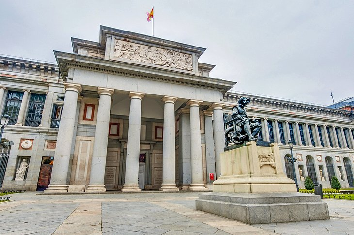 The Prado and Paseo del Artes, Madrid