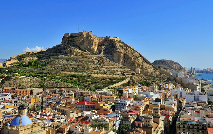10 Top Tourist Attractions in Alicante and Easy Day Trips – Santa Barbara Tourist Attractions Map
