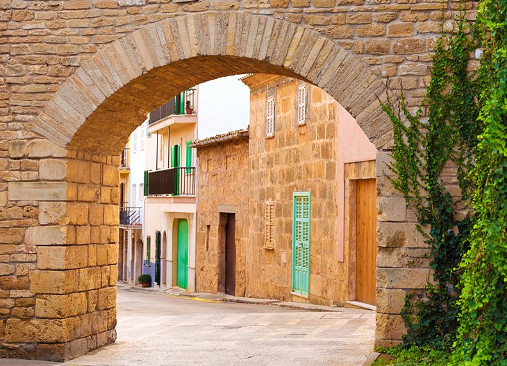 The Charming Medieval Walled Town of Alcudia (Mallorca Island)