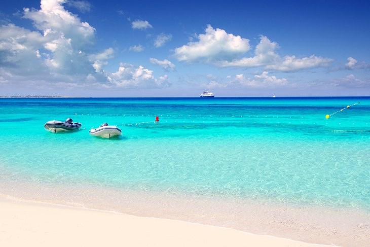 Beautiful Beaches on Formentera Island
