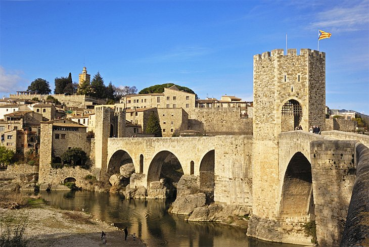 Medieval Villages near Besalú