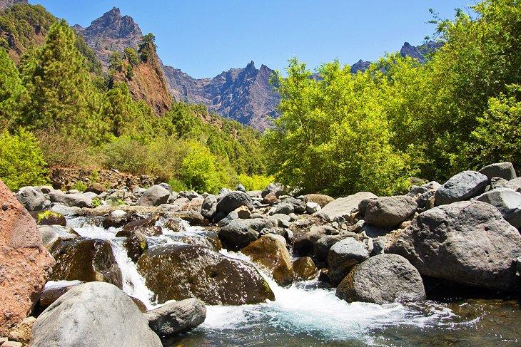 Caldera de Taburiente پارک ملی (جزیره لا پالما)