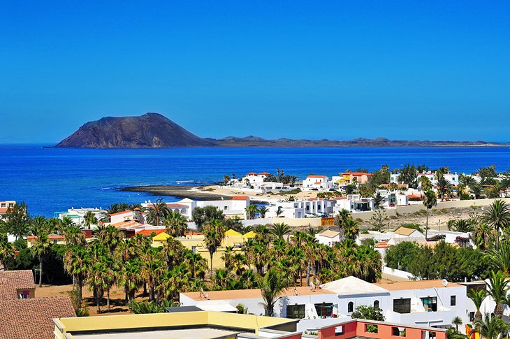 Corralejo Fishing Port and Beaches (Fuerteventura Island)