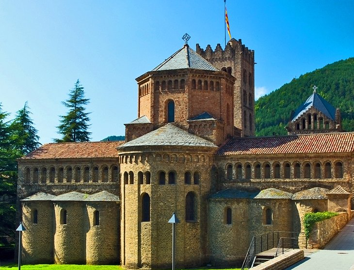 The Romanesque Monastery of Santa María de Ripoll