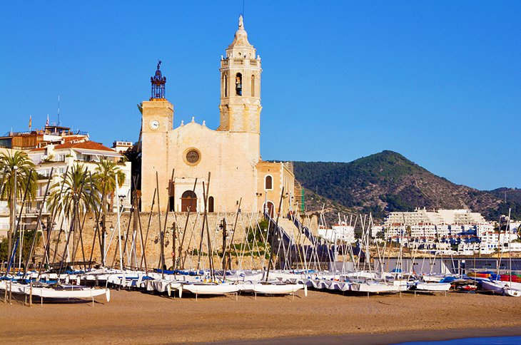 The Upscale Seaside Resort of Sitges