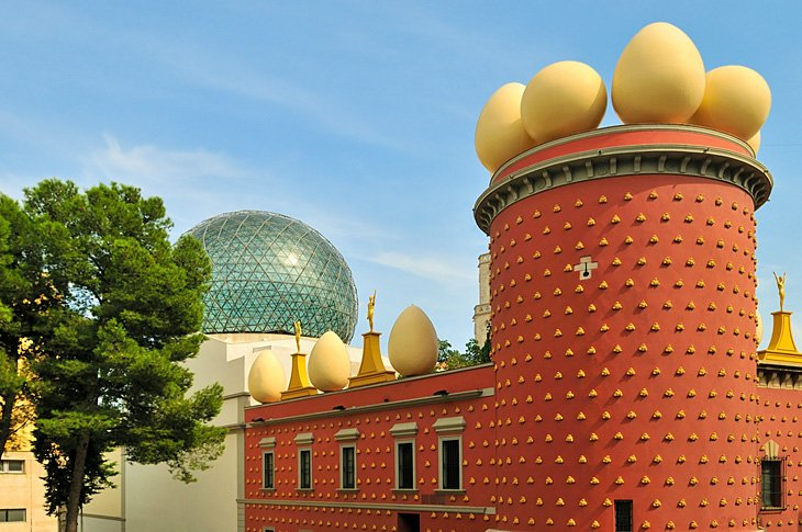 Figueres and the Salvador Dali Museum