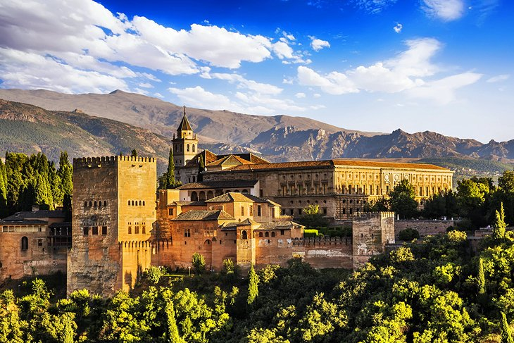 The Alhambra and Generalife Gardens, Granada