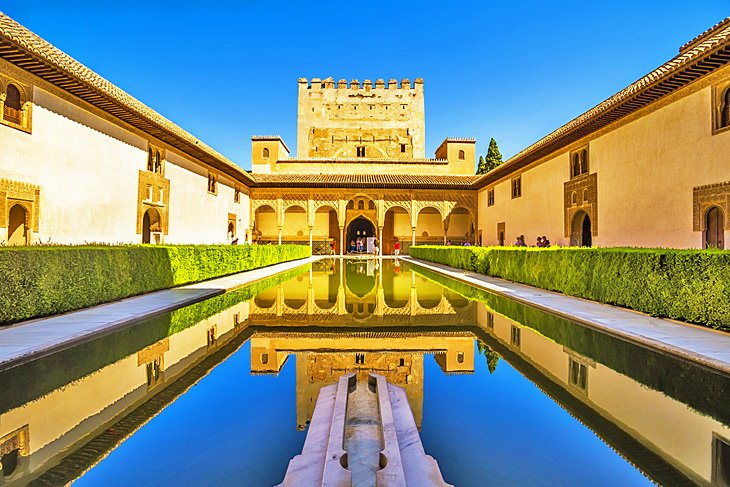 Court of the Myrtles, Alhambra Palace