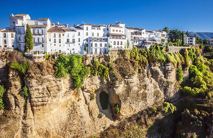 10 TopRated Pueblos Blancos White Villages of Andalusia – Tourist Map Of Ronda Spain
