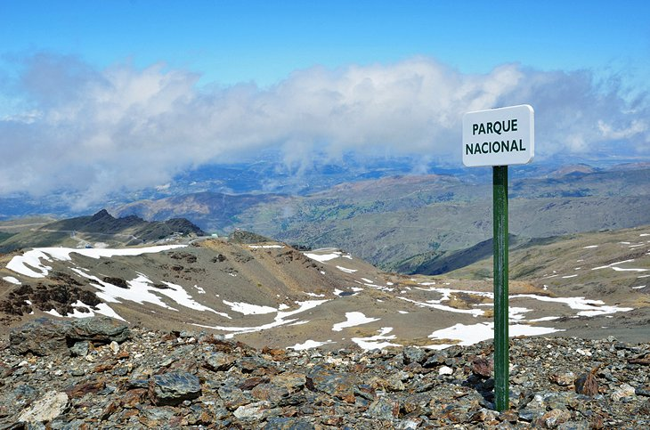 The Route to Pico de Veleta