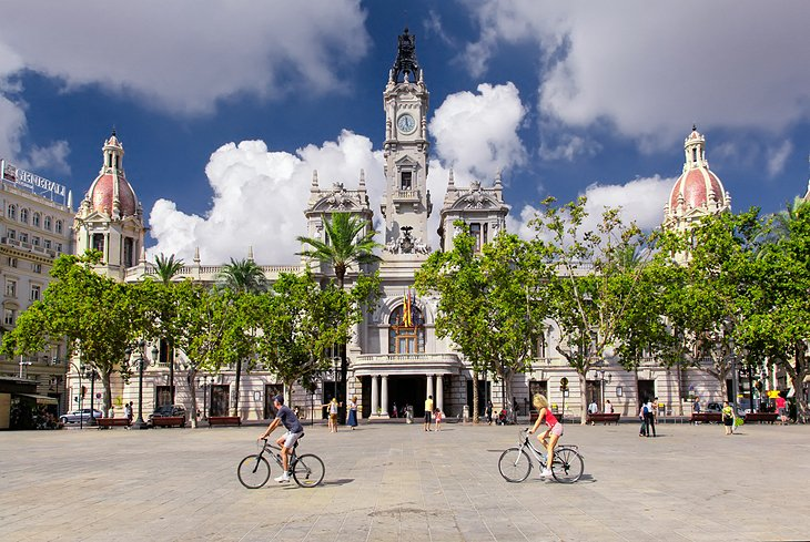 Valencia bike ride