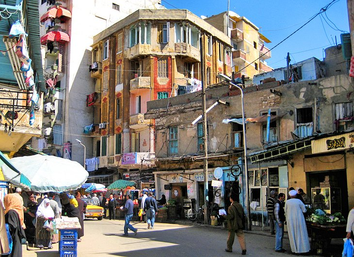 Main Souk Area
