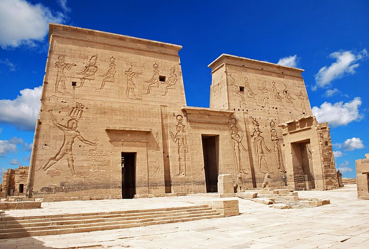 Top Tourist Attractions In Aswan Easy Day Trips PlanetWare - Map of egypt historical sites
