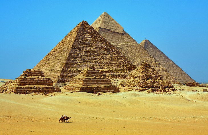 Top Tourist Attractions In Cairo Easy Day Trips PlanetWare - Map of ancient egypt historical sites