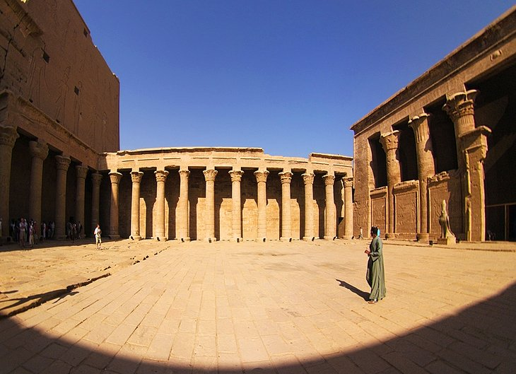 Exploring Edfu's Magnificent Temple of Horus | PlanetWare