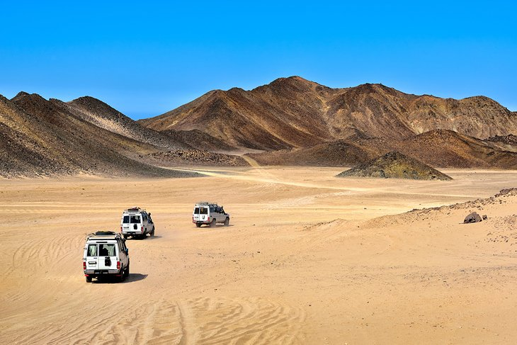 Expediciones en jeep por el desierto y quads