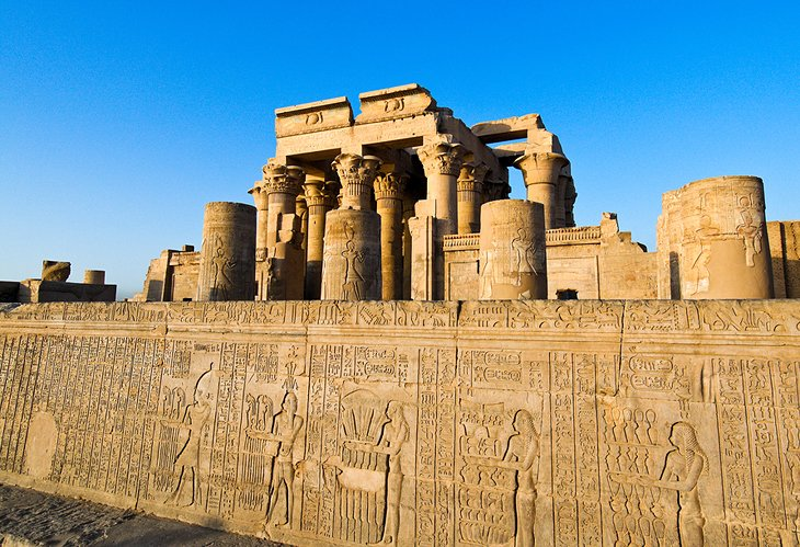 Pylon: Kom Ombo's Regal Entrance