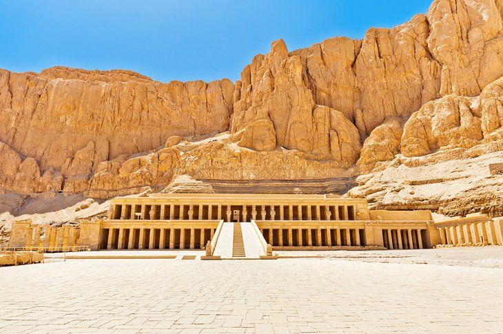 Temple of Deir al-Bahri (Queen Hatshepsut's Temple)
