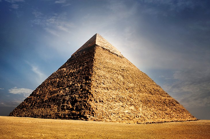 Pyramid of Chephren (Pyramid of Khafre)