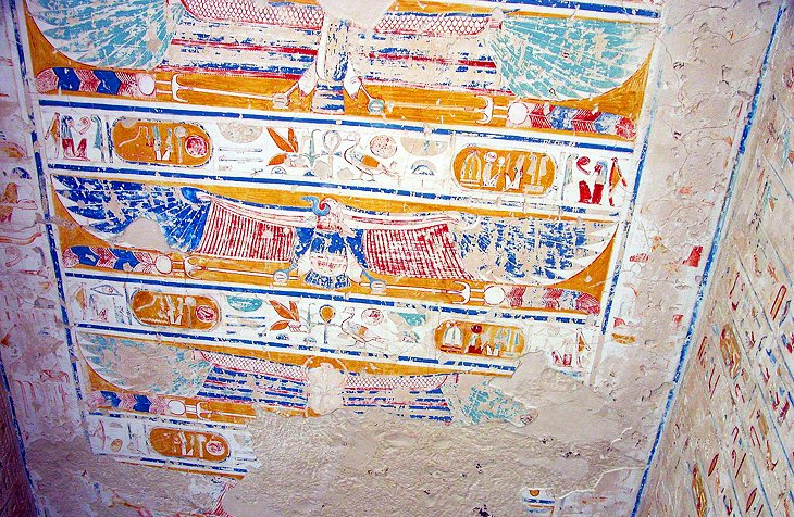 Ceiling in Tomb of Ramses IV