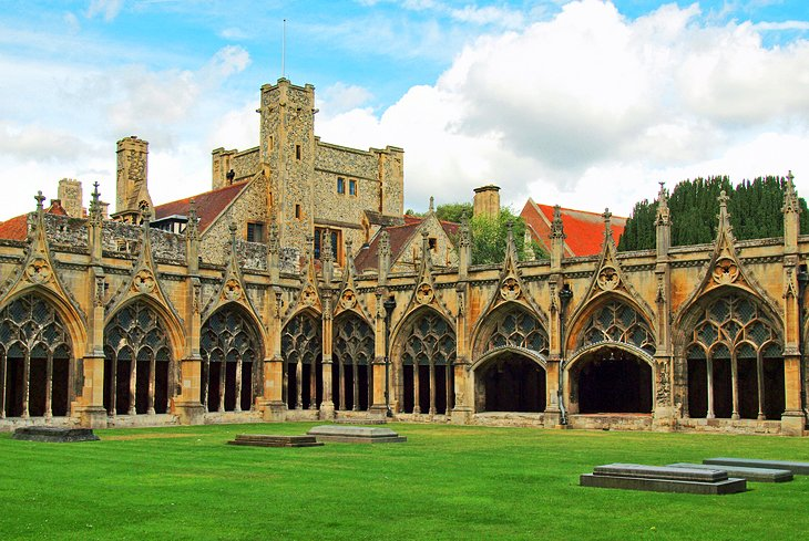 A Walk in History's Footsteps: The Cathedral Grounds