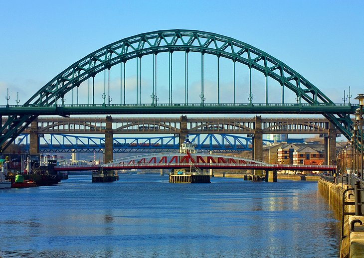 The Tyne Bridges