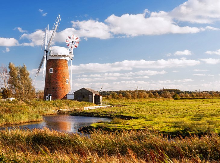 Hickling Broad and Horsey Windpump