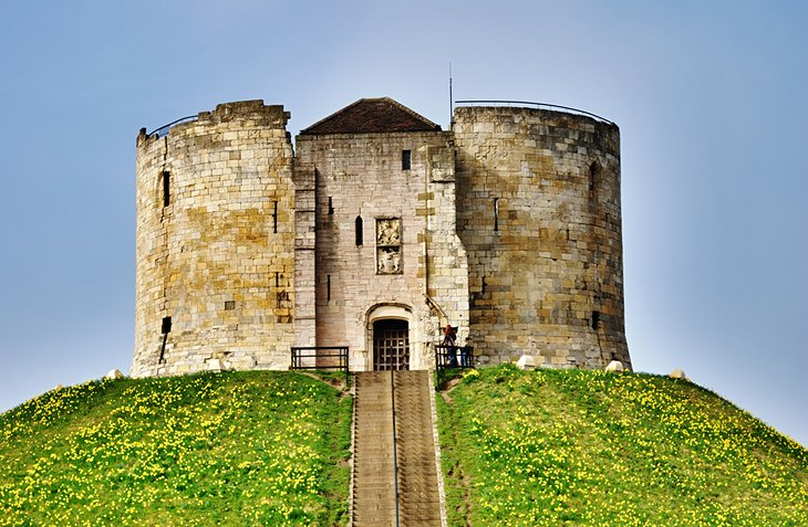 York Castle and Clifford's Tower
