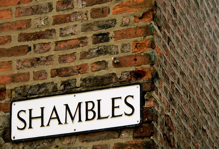 Ramble through the Shambles