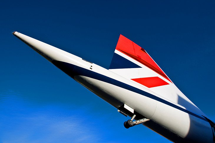 The Concorde at the Brooklands Museum