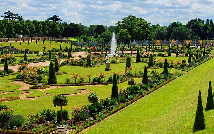 Roses In Garden: Visiting Hampton Court Palace: 12 Top Attractions, Tips