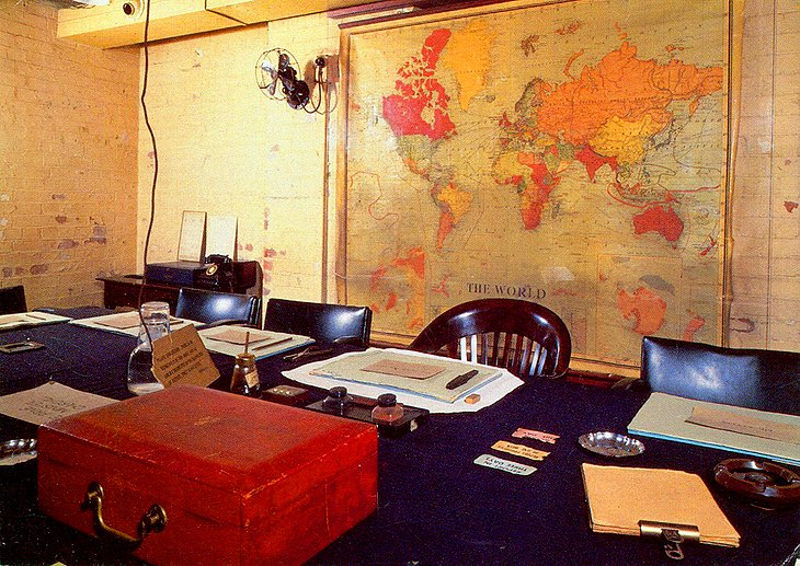 Churchill War Rooms and the Cenotaph