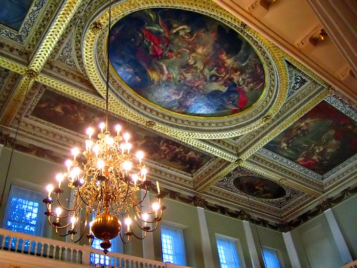The Old Whitehall Palace and the Banqueting House