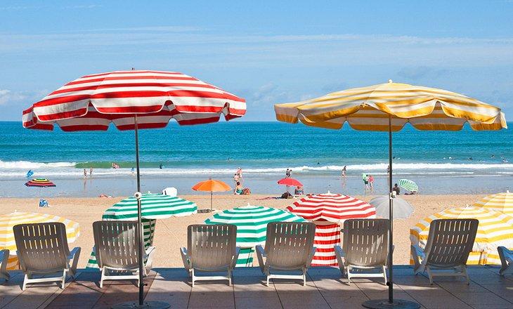 比亞里茨海灘