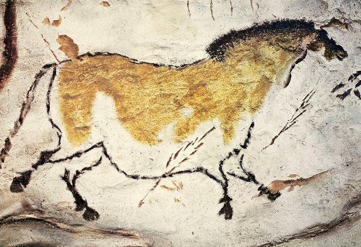 拉斯科洞穴的史前繪畫