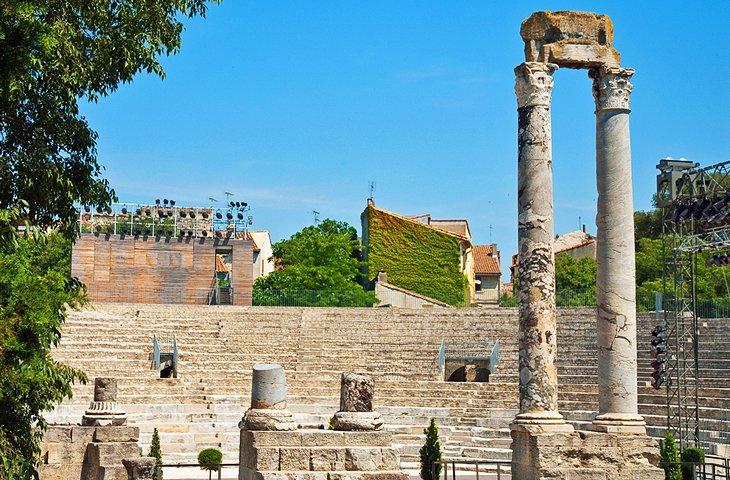 Ville Arles France