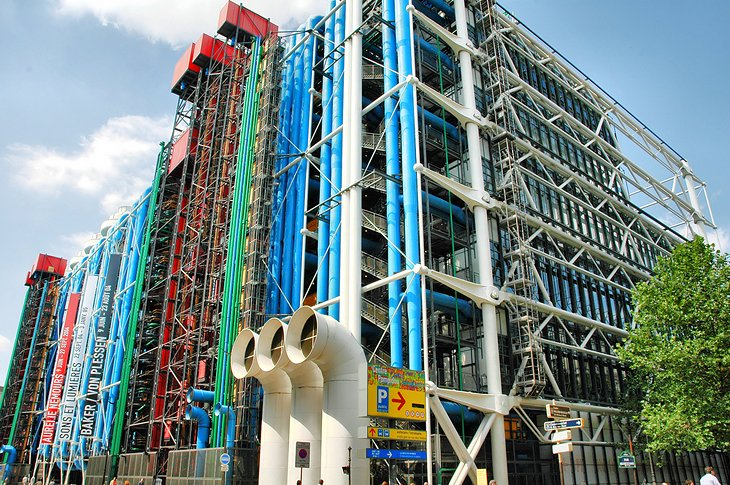 17 top rated museums in paris planetware for Art minimal centre pompidou