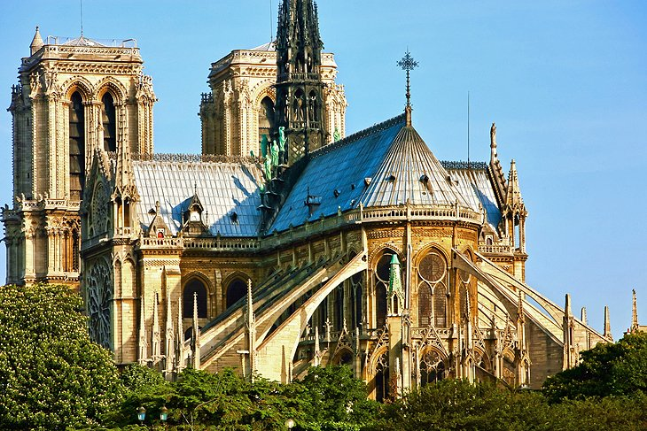 Revolutionary Gothic Architecture - Flying Buttresses