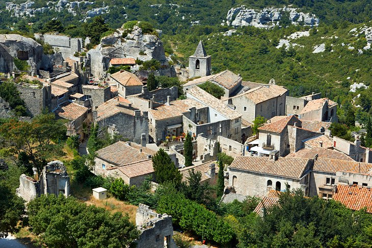 Les Baux-de-Provence: A Historic Town in a Dramatic Setting