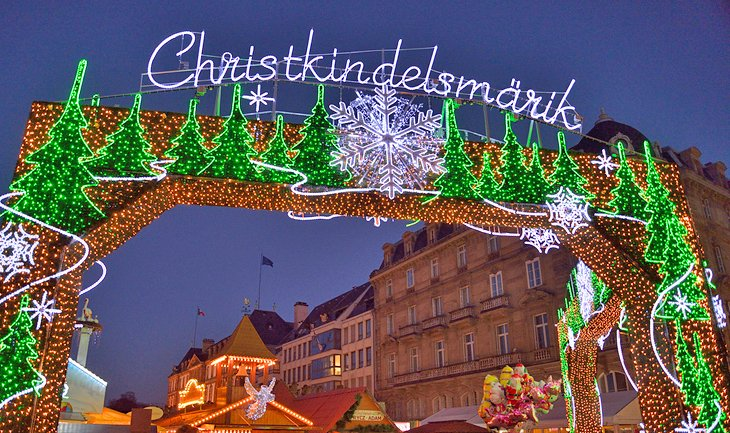 Christmas Market gate