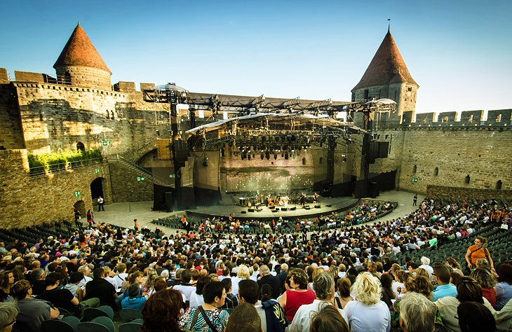 Attend the Summer Festival in Carcassonne
