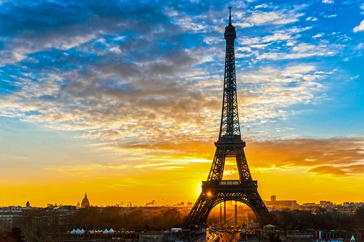 Watch the Sunset from the Eiffel Tower