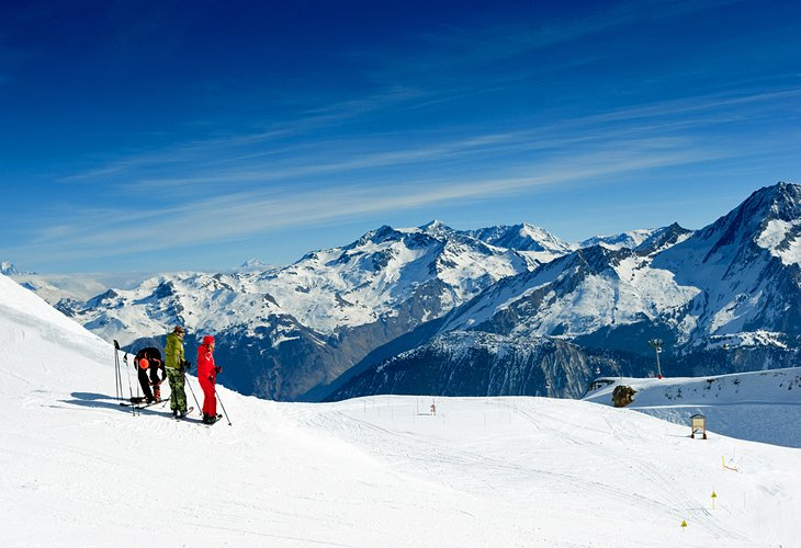 Ski in the French Alps