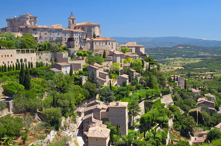 Luberon Regional Nature Park France-vaucluse-gordes