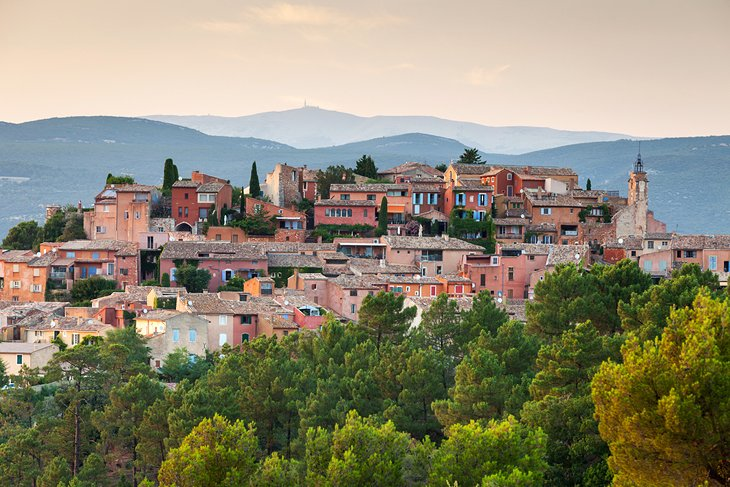 Roussillon: A Village Perched on an Ochre Cliff