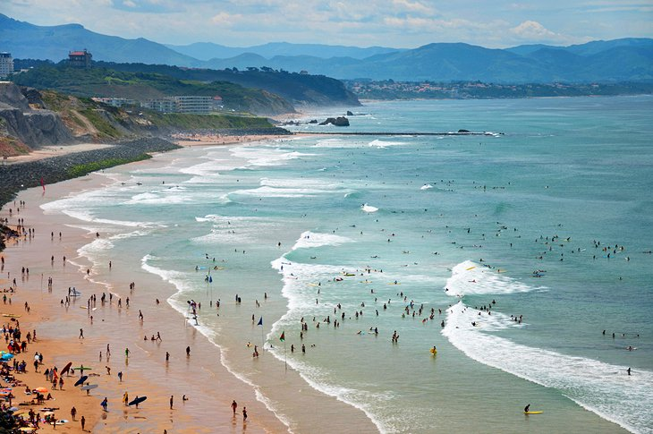 Biarritz: یک توچال Belle Epoque در ساحل باسک